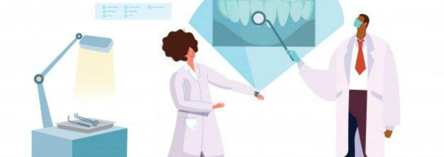 contactless dental practice